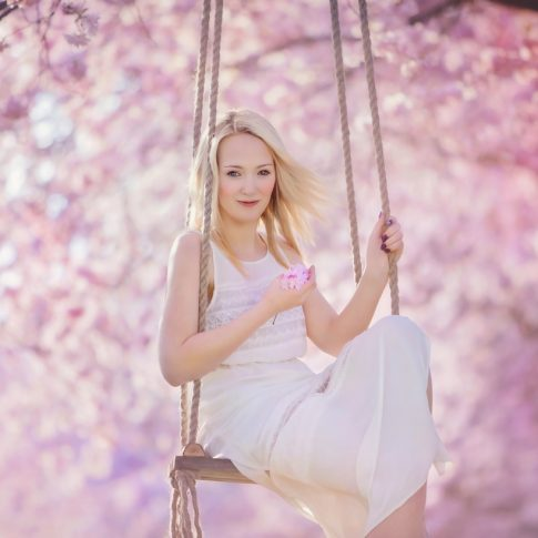 Frühlingsbilder, frühlingsbild, Mandelblüte