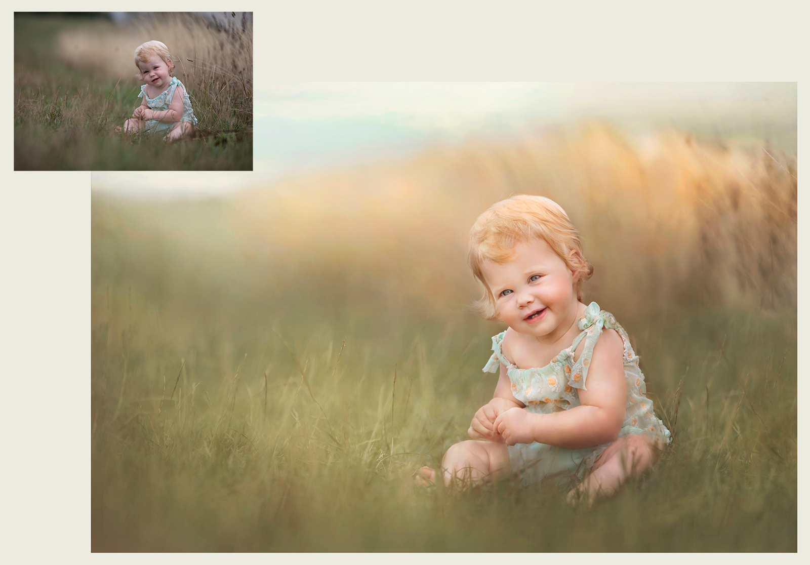 Die rohe Datei, die in der Kamera entsteht wird durch aufwändige Bildbearbeitung in ein Kunstwerk verwandelt.